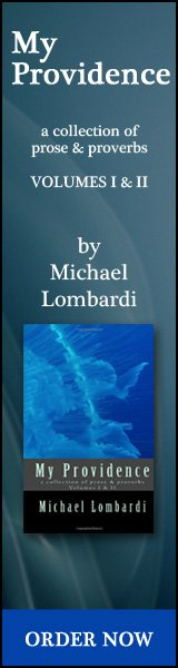 My Providence a collection of prose & proverbs by Michael Lombardi
