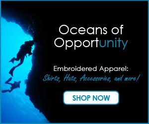 Oceans of Opportunity - Embroidered Apparel - Shop Now