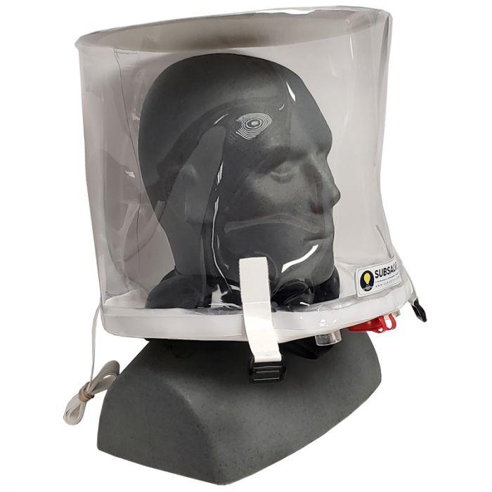 Helmet Based Ventilation for Covid-19